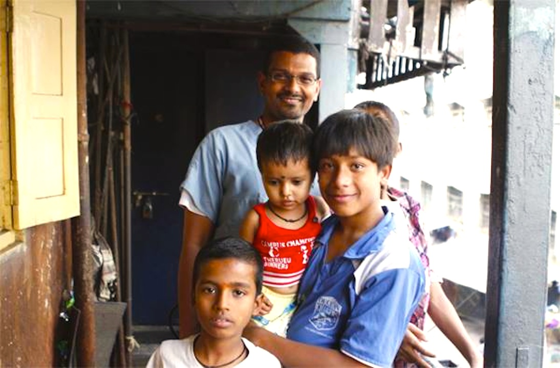 Alex with RLD kids
